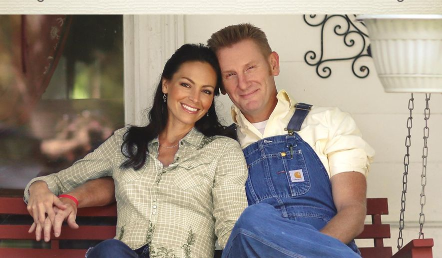 """This CD cover image released by Gaither Music Group shows """"Hymns That Are Important to Us,"""" by Joey and Rory. (Gaither Music Group via AP)"""