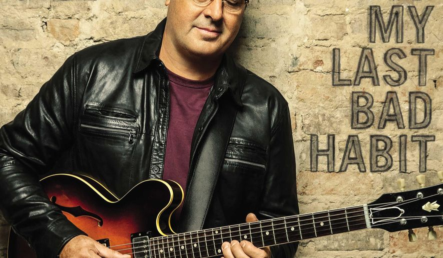 """This CD cover image released by MCA Nashville shows """"Down To My Last Bad Habit,""""  the latest release by Vince Gill. (MCA Nashville via AP)"""
