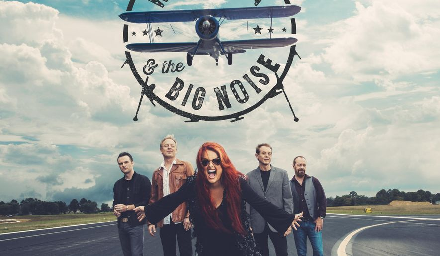 This CD cover image released by Curb Records shows the self-titled album for Wynonna & The Big Noise. (Curb via AP)