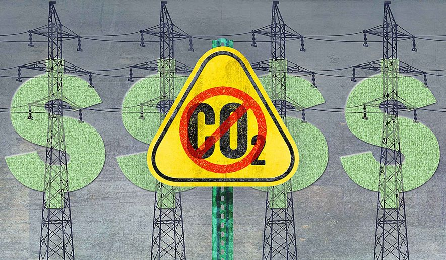 Threat of Declaring CO2 a Pollutant Illustration by Greg Groesch/The Washington Times