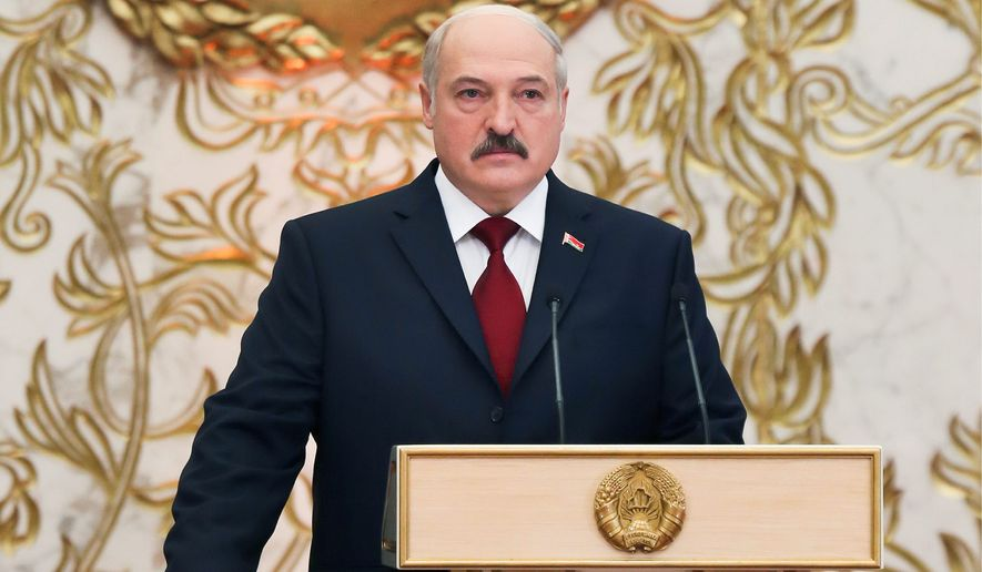 Alexander Lukashenko, the 61-year-old president of Belarus who has been in power since 1994, won a fifth term. (Associated Press)
