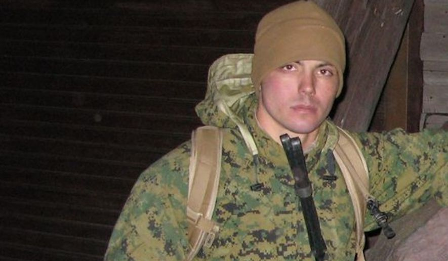 Former Marine, Christopher Marquez, was allegedly attacked and robbed in Washington D.C. on Friday by a group of people asking him if he believed black lives mattered. (Image: Screenshot Marine Corps Times)