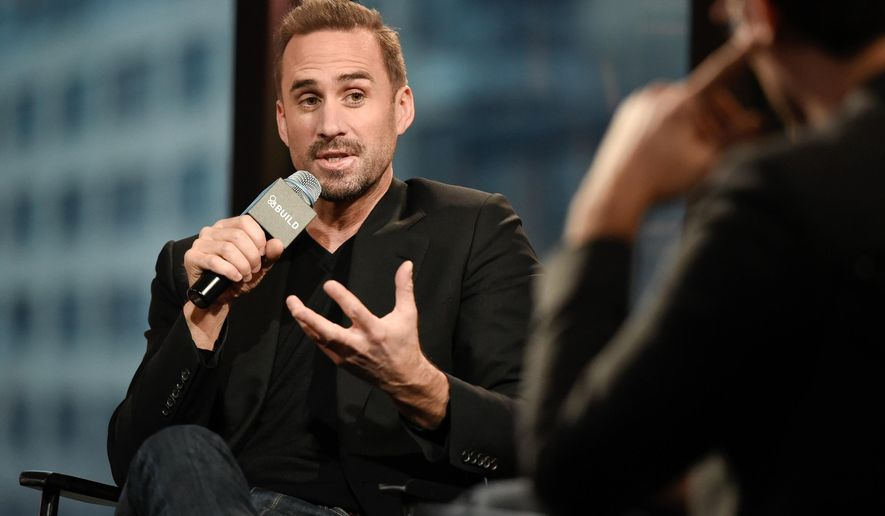 """Actor Joseph Fiennes participates in AOL's BUILD Speaker Series to discuss the film, """"Risen"""", at AOL Studios on Wednesday, Feb. 17, 2016, in New York. (Photo by Evan Agostini/Invision/AP)"""