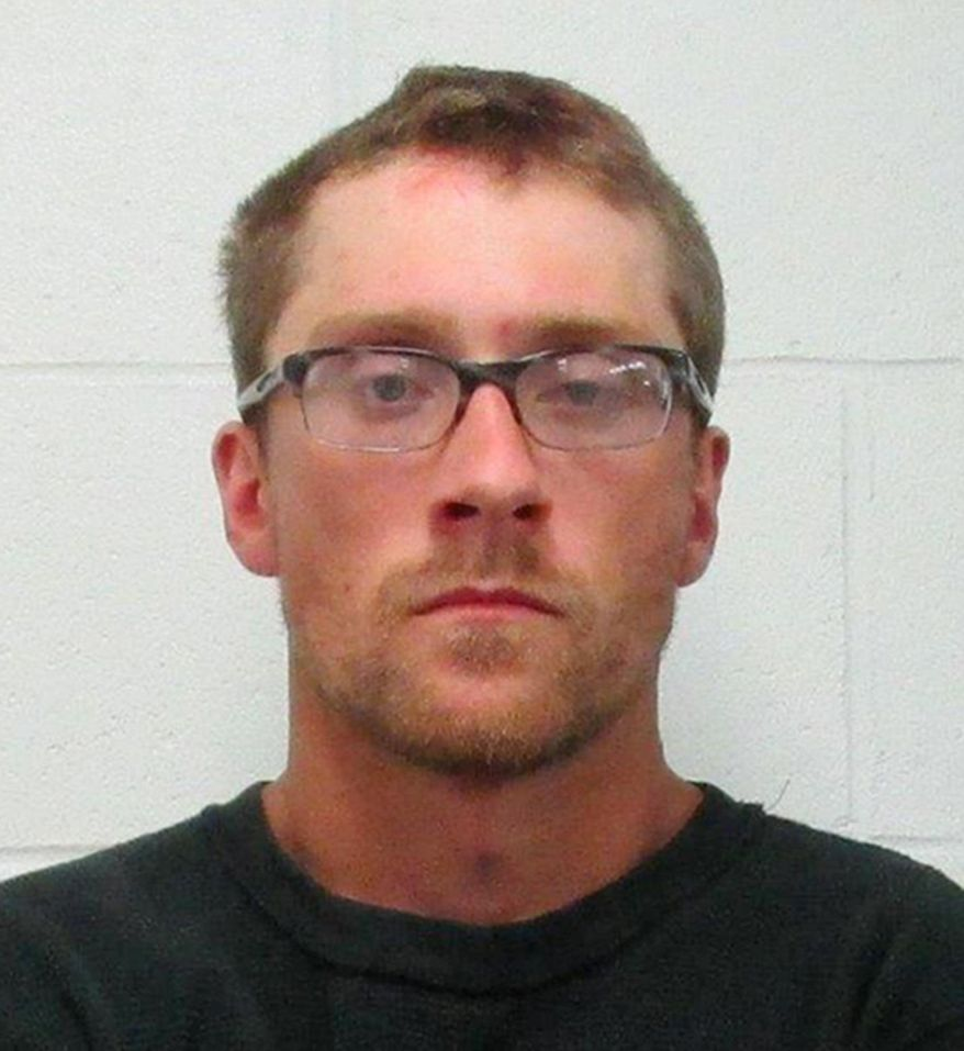 FILE - This undated file photo provided by the Mercer Sheriff's Office in Stanton, N.D., shows Dillon Gappert, 27, from Hensler, N.D. Rapport, who was accused of gunning down nine cattle in an Oliver County pasture in 2012, will have a felony charge wiped from his record if he pays $5,000 in restitution and stays out of trouble for the next nine months.  (Mercer County Sheriff's Office via AP, File)