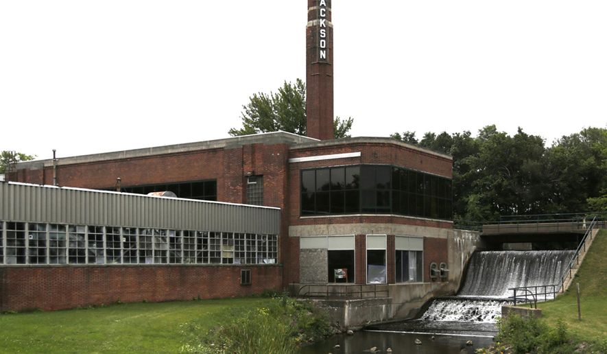 This undated photo shows a former Ford Motor Co. plant in Brooklyn, Mich. Plans are moving forward to turn the former small auto parts plant in southern Michigan into a culinary, recreation and tourist destination. (Brian Smith/Jackson Citizen Patriot via AP) LOCAL STATIONS OUT; LOCAL INTERNET OUT; MANDATORY CREDIT