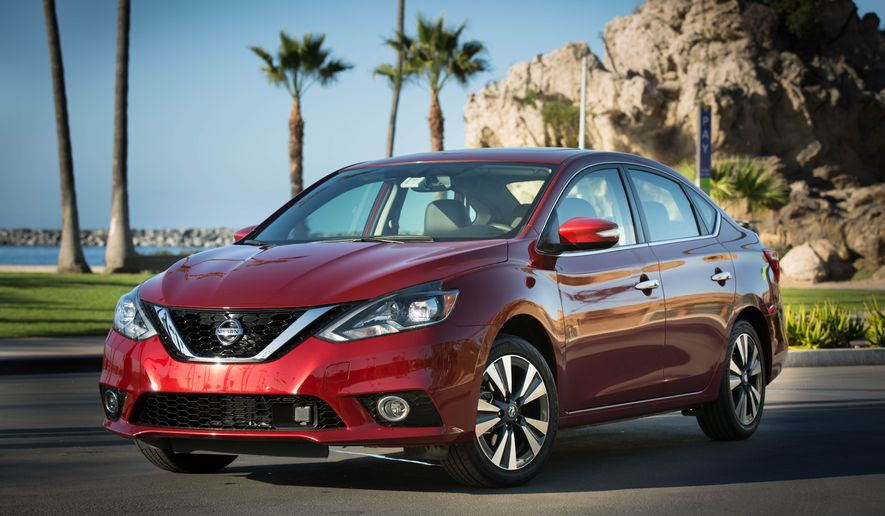 It's the all new 2016 Nissan Sentra with a totally revamped exterior and a refreshed interior adding to the reasons why this compact sedan continually gets high marks. In fact, with the new 2016 Sentra, the exterior redesign brings Sentra closer in look and feel to the new 2016 Maxima and the redesigned 2016 Altima. (Photo by Rita Cook).