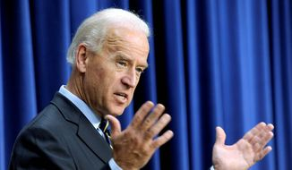 Vice President Joseph R. Biden (Associated Press) **FILE**