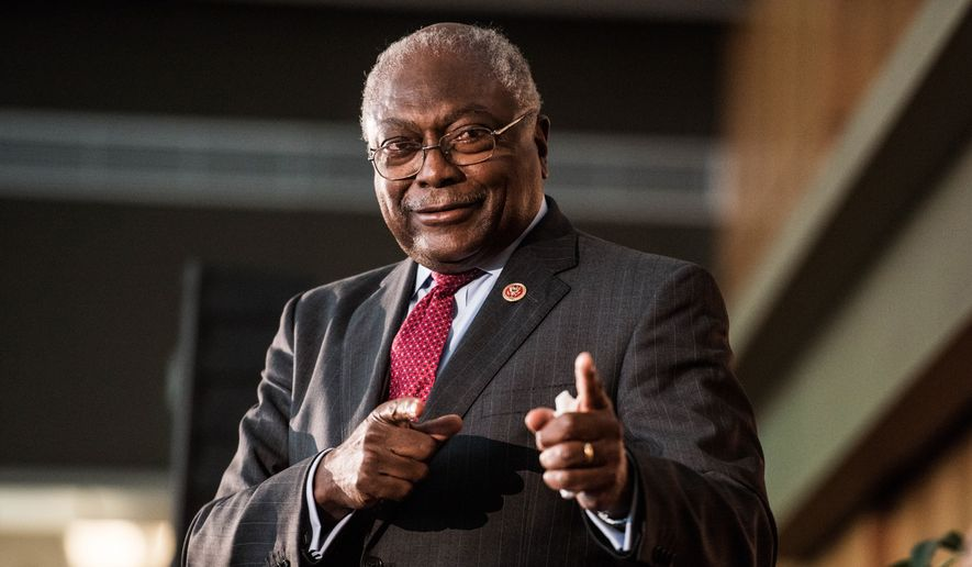 """He always said that he hated losers,"" Rep. James Clyburn said on ABC's This Week. (Associated Press)"