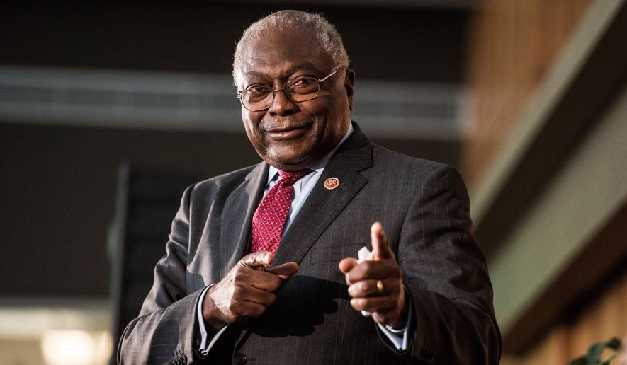 Rep. James Clyburn of South Carolina, a former House Democratic whip and ex-chairman of the Congressional Black Caucus, will reportedly make his endorsement of Hillary Clinton formal on Friday. (Associated Press)
