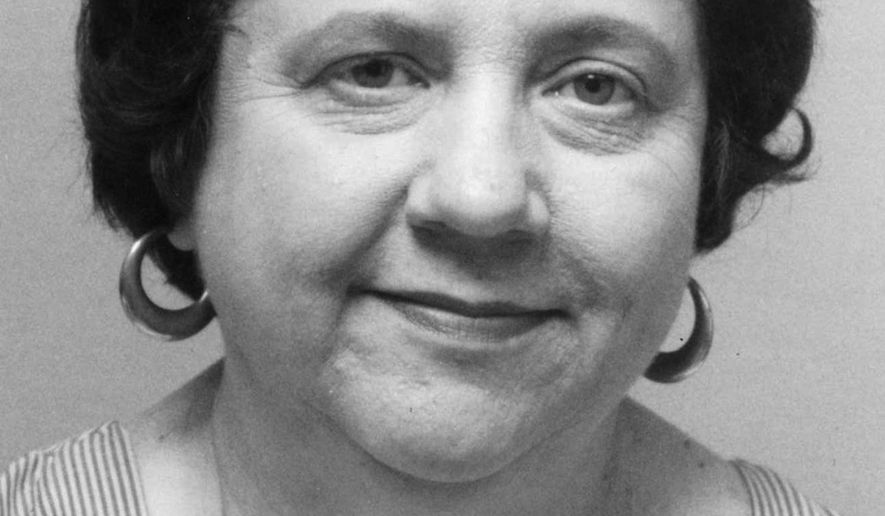 FILE - This undated file photo shows Margaret Scherf, a long-time reporter and editor for The Associated Press. Scherf, whose career spanned four decades and included high-profile stories such as the trial of the Chicago Seven, has died. She was 75. (AP Photo)