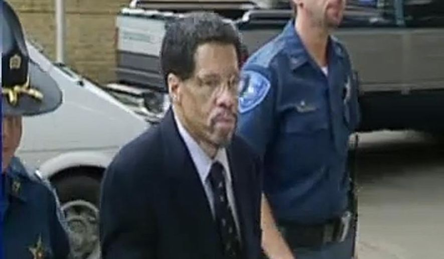 "In this Feb 12, 2015 file photo made from video and released by WBRZ-TV in Baton Rouge, Albert Woodfox walks into a courthouse in Louisiana. Woodfox, the last inmate of a group known as the ""Angola Three"" has pleaded no contest to manslaughter and a lesser offense in the 1972 death of a prison guard and is expected to be released Friday after more than four decades in prison. (WBRZ-TV via AP, File)"