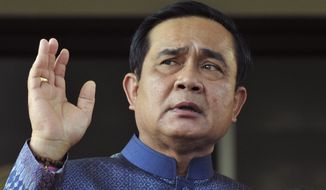 Thai Prime Minister Prayuth Chan-ocha is invited to join a May summit in the Russian city of Sochi between the Kremlin and the Association of Southeast Asian Nations (ASEAN), whose other members are Brunei, Cambodia, Indonesia, Laos, Malaysia, Myanmar, the Philippines, Singapore and Vietnam. (Associated Press)