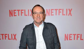 "Kevin Spacey, who portrays President Francis Underwood, arrives at the Q&A Screening of ""The House Of Cards"" in Beverly Hills, Calif., in this April 27, 2015, file photo. (Photo by Jordan Strauss/Invision/AP, File)"