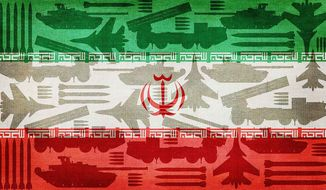 Iran Purchasing Arms from Russia Illustration by Greg Groesch/The Washington Times