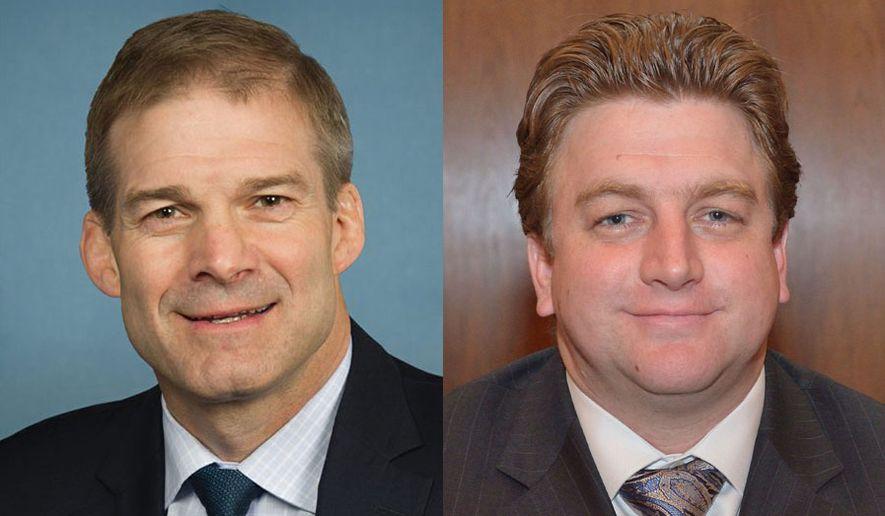 Rep. Jim Jordan and Joshua D. Wright