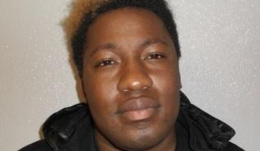 Deonte Carraway (Prince George's County Police Department via Associated Press) ** FILE **