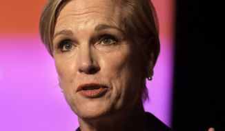 """I think the disturbing thing is that Donald Trump as well as Ted Cruz and Marco Rubio have said if they were president, they would end women's access to family planning, to cancer screening, to basic affordable health care,"" Planned Parenthood President Cecile Richards said. ""That's what's really at stake here."" (Associated Press)"