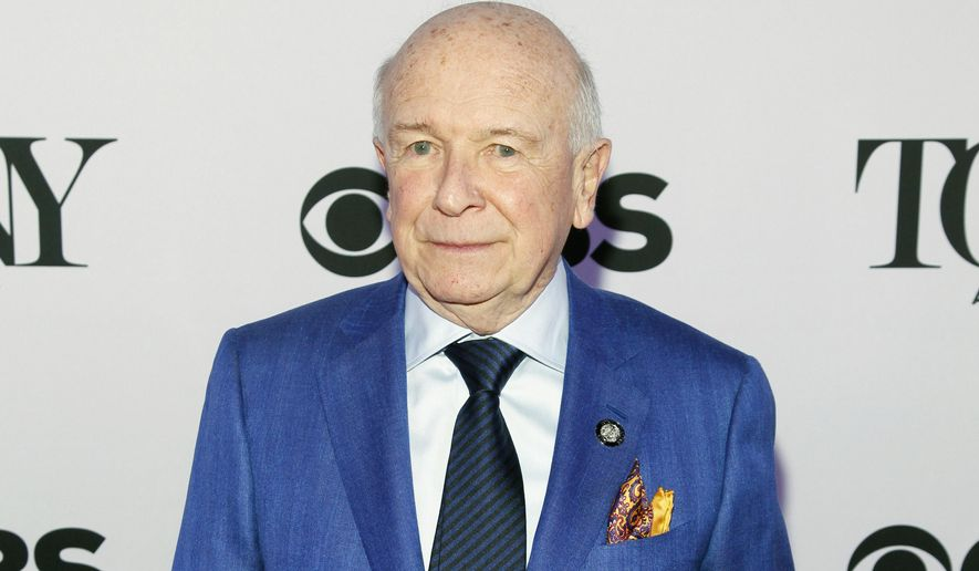 In this April 29, 2015, file photo, Terrence McNally attends the 2015 Tony Awards Meet The Nominees Press Junket in New York. (Photo by Andy Kropa/Invision/AP, File)