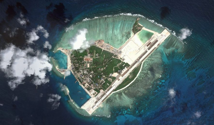Woody Island, South China Sea. (Map Data: Google, DigitalGlobe)