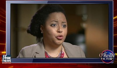 "Marissa J. Johnson, co-founder of Black Lives Matter Seattle, explained on Fox News recently why she and fellow activists believe the phrase ""all lives matter"" is a racial slur.