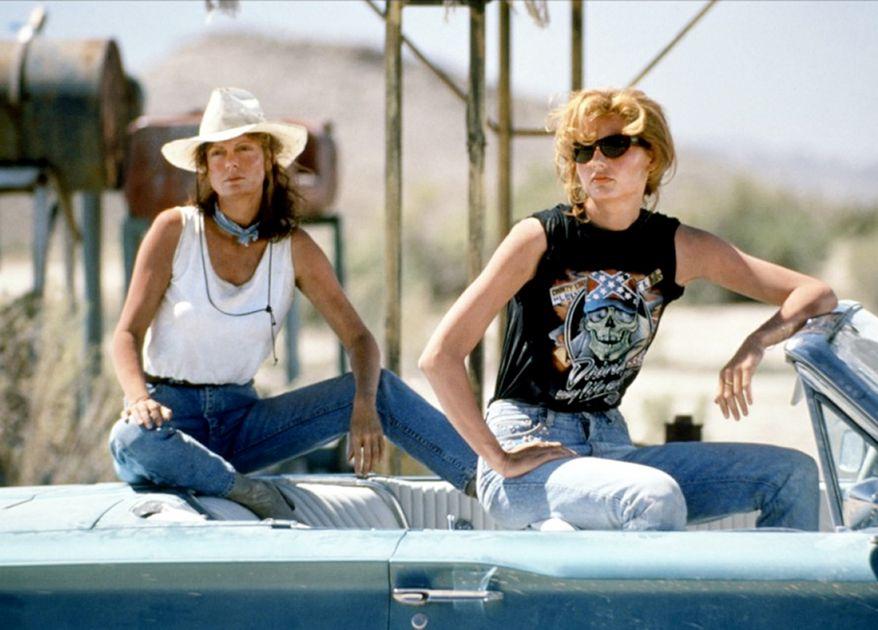 Susan Sarandon and Geena Davis in 'Thelma and Louise' (1991)