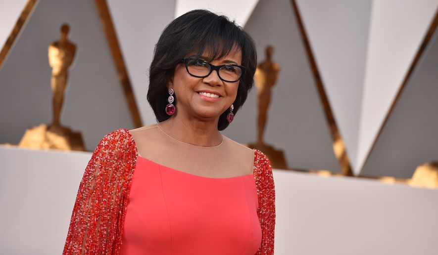 """Cheryl Boone Isaacs said the mission of the Academy is now focused on """"making sure that we are being inclusive with all the initiatives we do, that our members are like ambassadors into the entire motion picture industry. ... It's all of our responsibility that diversity does happen."""" (Associated Press)"""