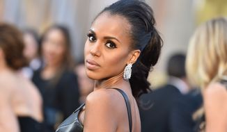 Kerry Washington said that the drive for diversity is not only to include more actors of color but also women and the elderly. (Associated Press)