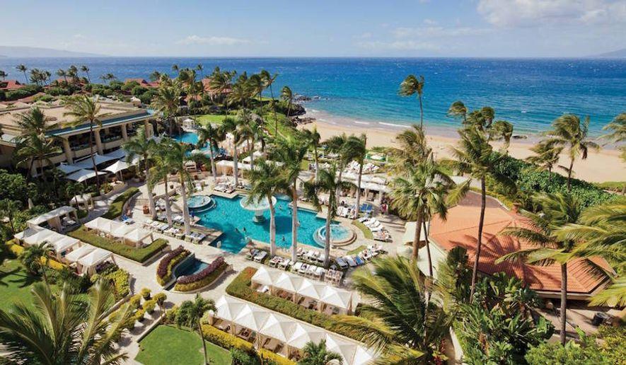 Four Seasons Maui, luxury resort in Wailea (courtesy of Four Seasons Hotels & Resorts)