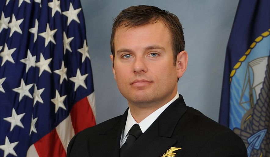 A photo provided Feb. 24, 2016, by the U.S. Navy shows Senior Chief Special Warfare Operator (SEAL) Edward C. Byers Jr. Byers will be awarded the Medal of Honor by President Barack Obama during a White House ceremony on Monday, Feb. 29, 2016. Byers is receiving the medal for his actions during a 2012 rescue operation in Afghanistan. (U.S. Navyvia AP)