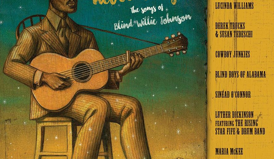 "This CD cover image released by Alligator Records shows ""God Don't Never Change: The Songs Of Blind Willie Johnson,"" a release by Blind Willie Johnson. (Alligator Records via AP)"