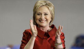 Hillary Clinton has won the Massachusetts Democratic primary. (Associated Press)