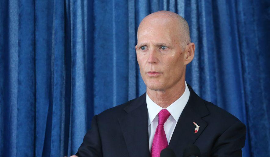 Florida Gov. Rick Scott. (Associated Press) ** FILE **
