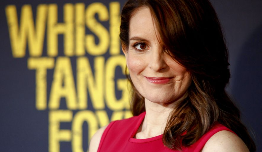 """Tina Fey attends the world premiere of """"Whiskey Tango Foxtrot"""" at the AMC Loews Lincoln Square on Tuesday, March 1, 2016, in New York. (Photo by Andy Kropa/Invision/AP)"""