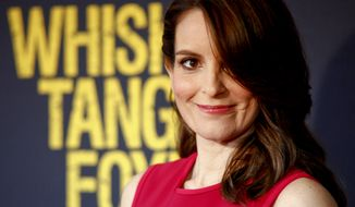 "Tina Fey attends the world premiere of ""Whiskey Tango Foxtrot"" at the AMC Loews Lincoln Square on Tuesday, March 1, 2016, in New York. (Photo by Andy Kropa/Invision/AP)"