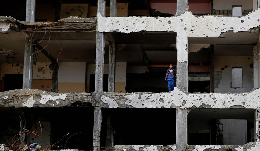 The destructive and disastrous 2014 war is one reason why Hamas is so unpopular among Palestinians, especially in its stronghold of Gaza. (Associated Press)