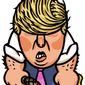 Illustration on the pugnacious Donald Trump by Alexander Hunter/The Washington Times