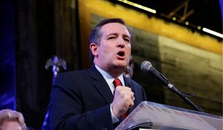Sen. Ted Cruz of Texas was one of the five remaining candidates in the Republican presidential contests on Super Tuesday. Democrats were down to only two choices. (Associated Press)