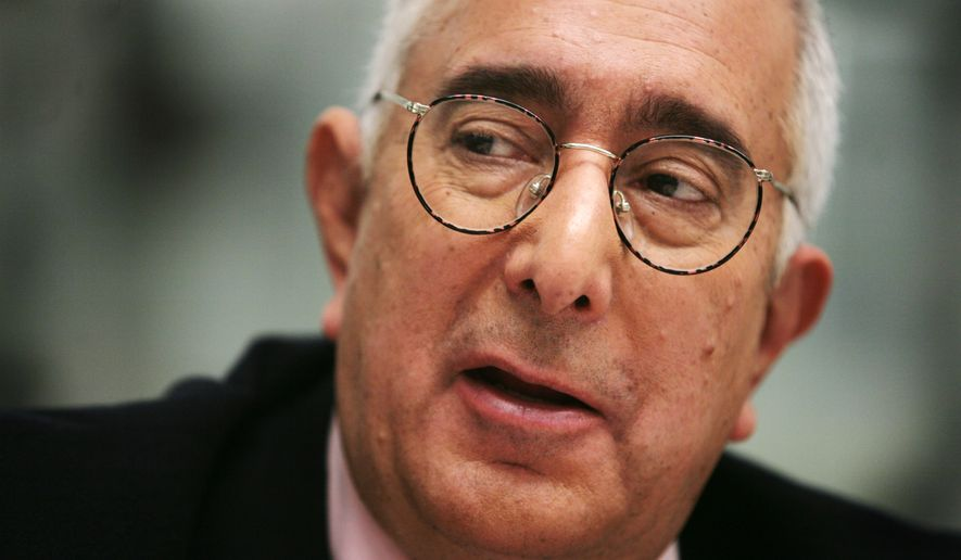 TV personality Ben Stein is interviewed in New York on Nov. 12, 2007. (Associated Press) **FILE**