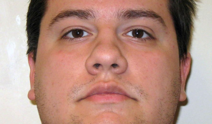 This undated booking photo provided by the Henderson Police Department shows Daron Clanton. A defense lawyer says Clanton will seek to be released from jail and may argue self-defense in the shooting death of his father during a confrontation in January at the family home in Henderson, Nev. Attorney Mace Yampolsky says he intends during a court appearance on Wednesday, March 2, 2016, to seek bail for Clanton. (Henderson Police Department via AP)