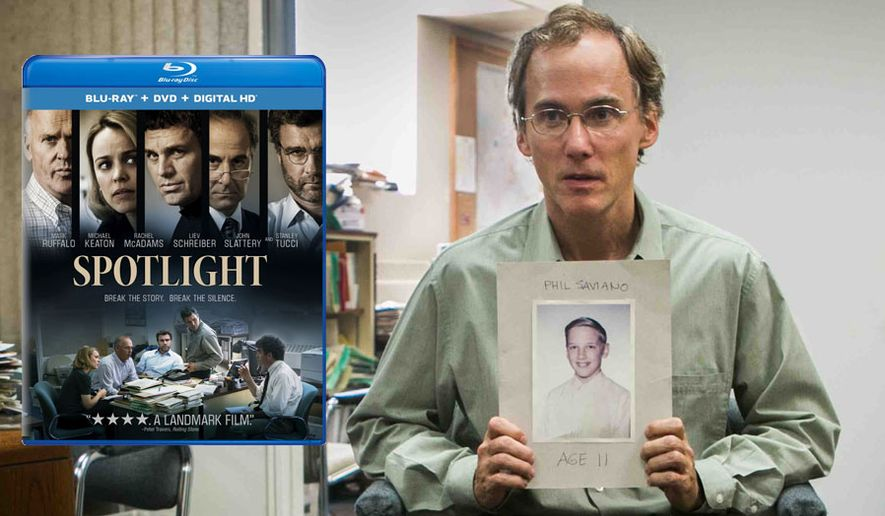 "Actor Neal Huff as Phil Saviano in ""Spotlight,"" now available from Universal Studios Home Entertainment.."