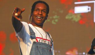 In this Oct. 10, 2015 file photo, A$AP Rocky performs at the Austin City Limits Music Festival in Austin, Texas. MTV announced Wednesday, March 2, 2016, that A$AP Rocky will host the 12th annual Woodie Awards on March 16 at the South by Southwest music festival in Austin, Texas. (Photo by Jack Plunkett/Invision/AP, File)