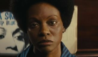 The much-anticipated release of a Nina Simone biopic next month is renewing criticism that actress Zoe Saldana's (pictured here) skin isn't dark enough to portray the iconic jazz singer. (YouTube/Nina)