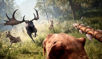 Ride a sabretooth tiger while hunting in the video game Far Cry Primal.