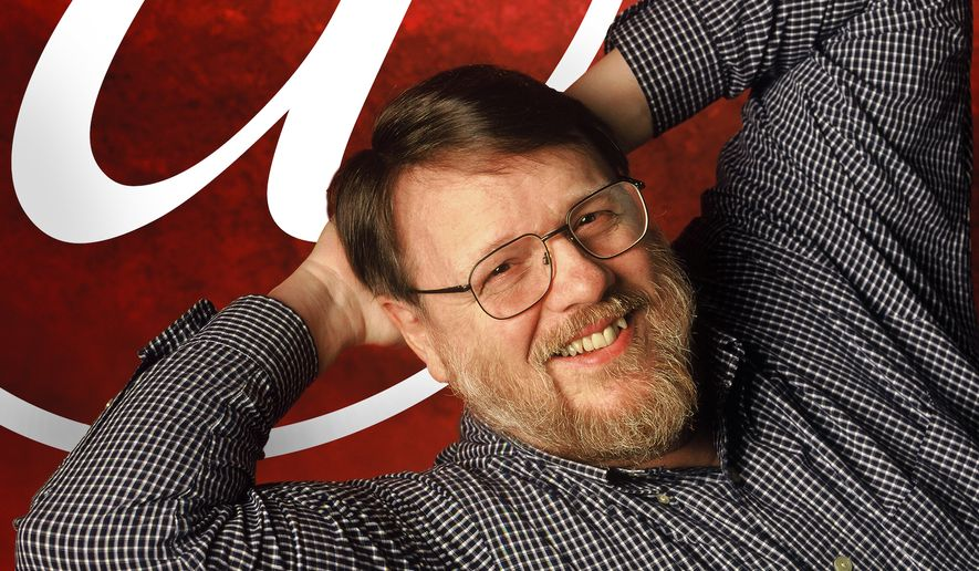 """An undated photo provided by Raytheon BBN Technologies shows Raymond Tomlinson. Tomlinson, the inventor of modern email and selector of the """"@"""" symbol, has died. Raytheon Co., his employer, on Sunday, March 6, 2016, confirmed his death; the details were not immediately available. (Raytheon via the Internet Hall of Fame via AP)"""