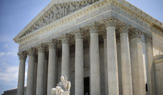 The Supreme Court is seen in this June 30, 2014, file photo. (AP Photo/Pablo Martinez Monsivais) ** FILE **