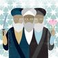 Illustration on so-called Iranian moderates by Linas Garsys/The Washington Times