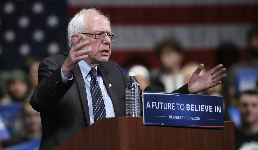 The campaign of Democratic presidential hopeful Bernard Sanders filed a lawsuit Tuesday to force Ohio to allow 17-year-olds to vote in next week's primary as long as they will be 18 by the time of November's general election. (Associated Press)