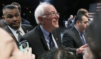 Despite weeks of polling that showed Sen. Bernard Sanders down by double digits, networks called the race for the Vermont senator late Tuesday night. (Associated Press)