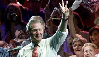 Republican candidate George W. Bush rallied enough voters in Florida to eke out a victory in 2000 but won 52.1 percent in the state in 2004.