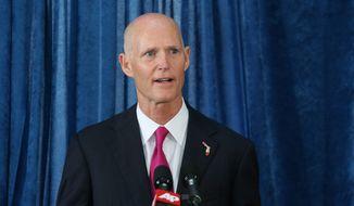 Florida Gov. Rick Scott (Associated Press) **FILE**